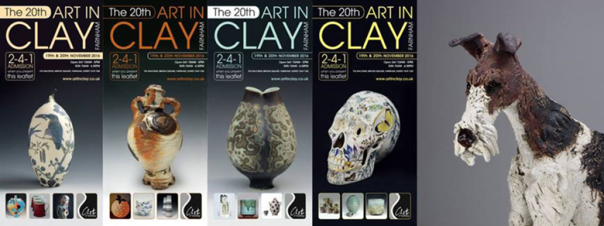 20th Art in Clay at Farnham