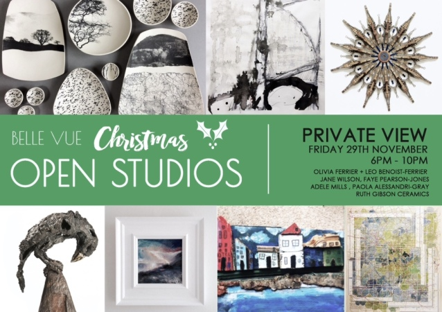 Belle Vue Christmas Open Studios