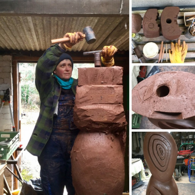 New Brick Sculpture Heads to the Capital