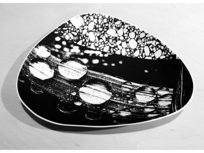 Water and Stone Dish