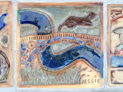 Jessies's glazed tile