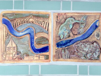 Esther and Lulu's tiles
