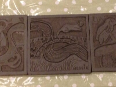 Jessie's carved tile