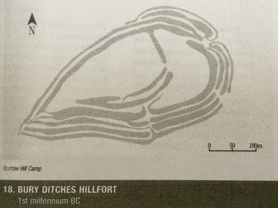 Hill Fort outline