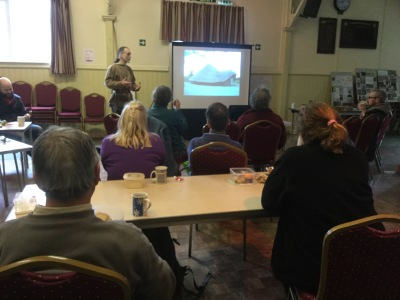 Workshop in Pontesbury Public Hall