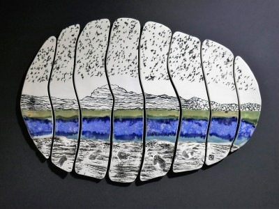 Seascape Stones IV £450 SOLD
