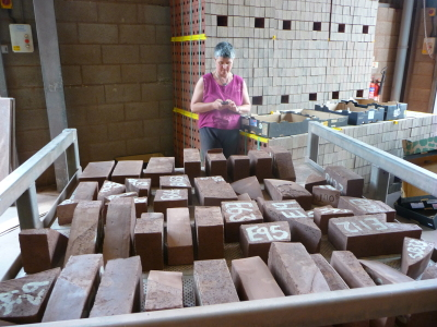 Ruth in brick factory